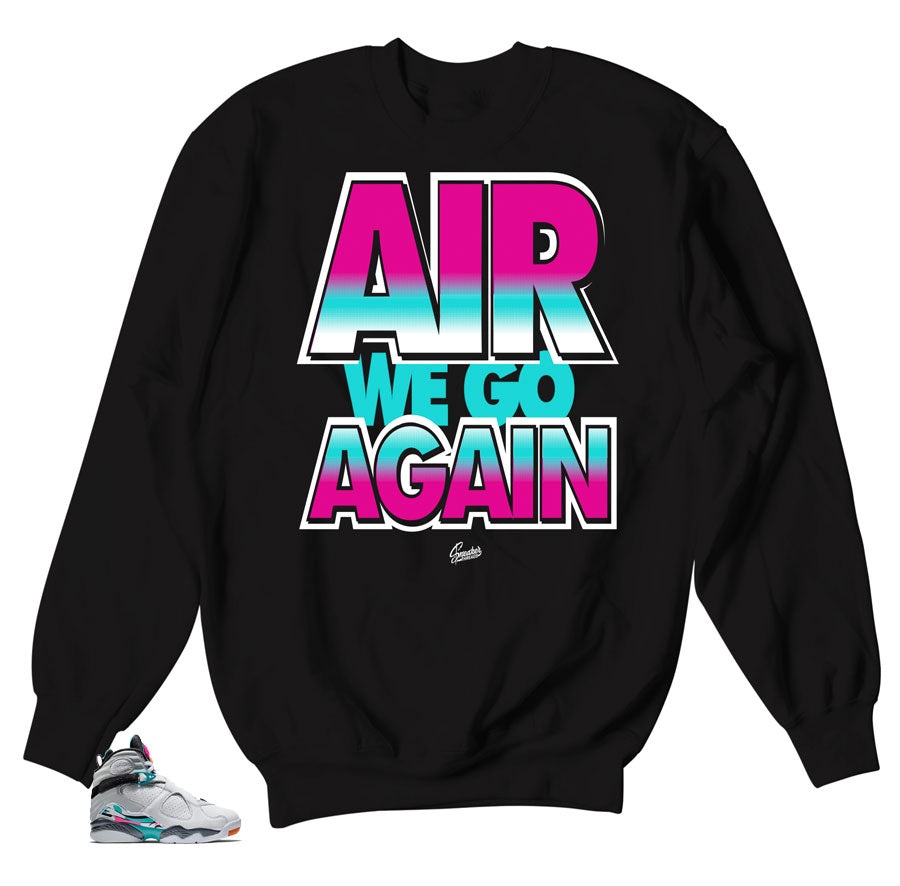Air Jordan Sweaters | Jordan 8 South Beach match