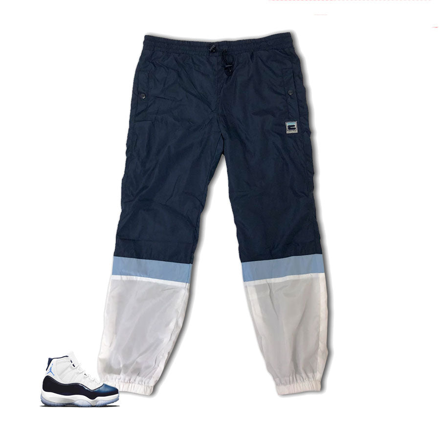 Jordan 11 win like 82 track pants match retro 11 sweatpants.