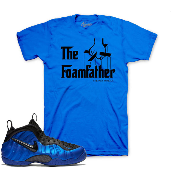 Foamposite Hyper Cobalt Shirt - Foamfather - Blue