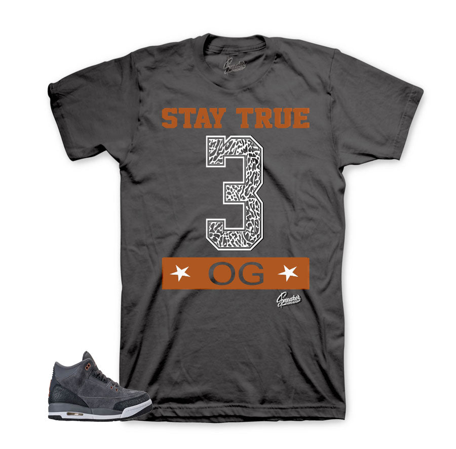 Jordan 3 anthracite tees match | Official sneaker matching tees.