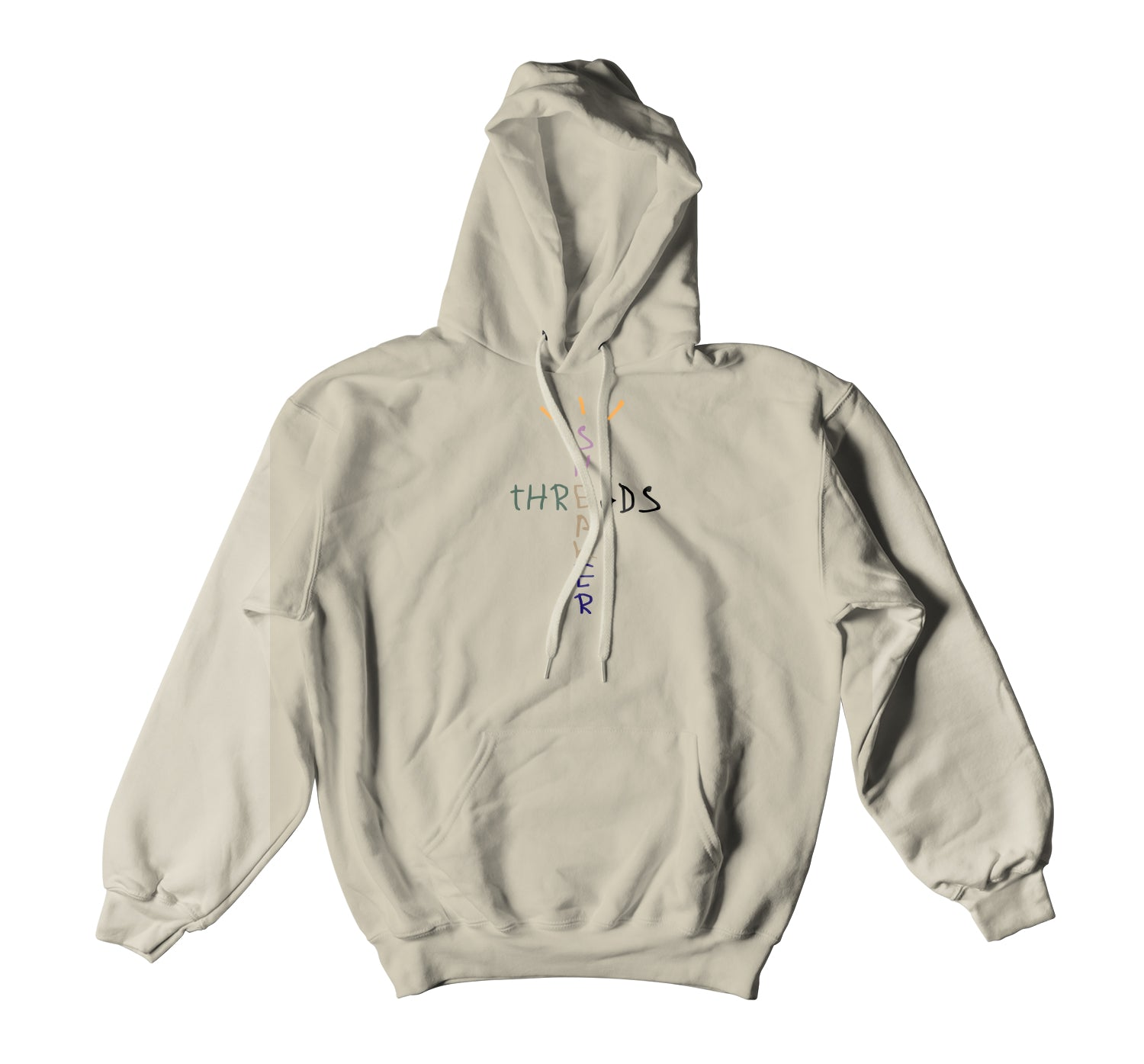 Air Force 1 Travis Scott Hoody - Scribble - Sand