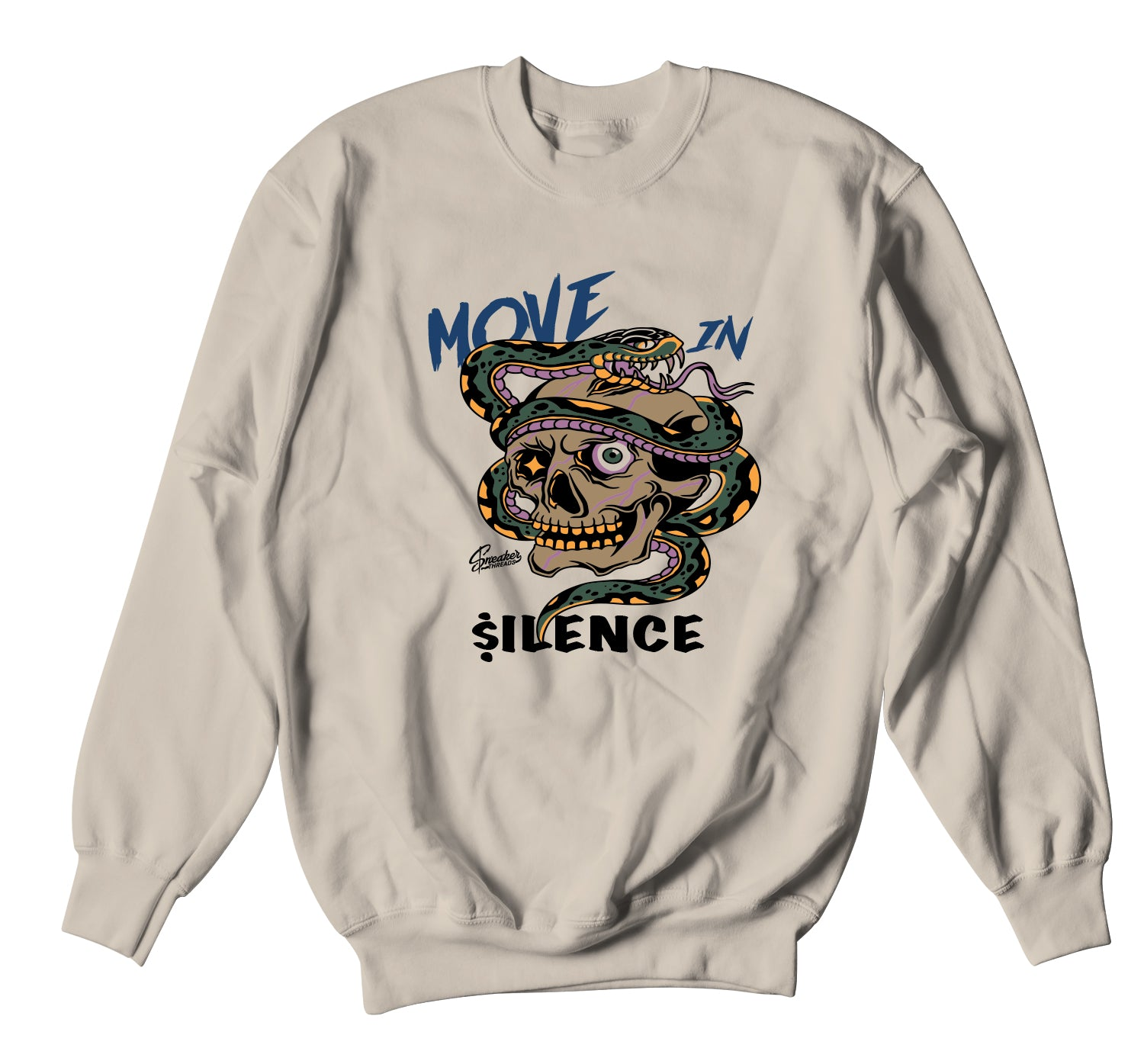 Air Force 1 Travis Scott Sweater - Move In Silence - Sand