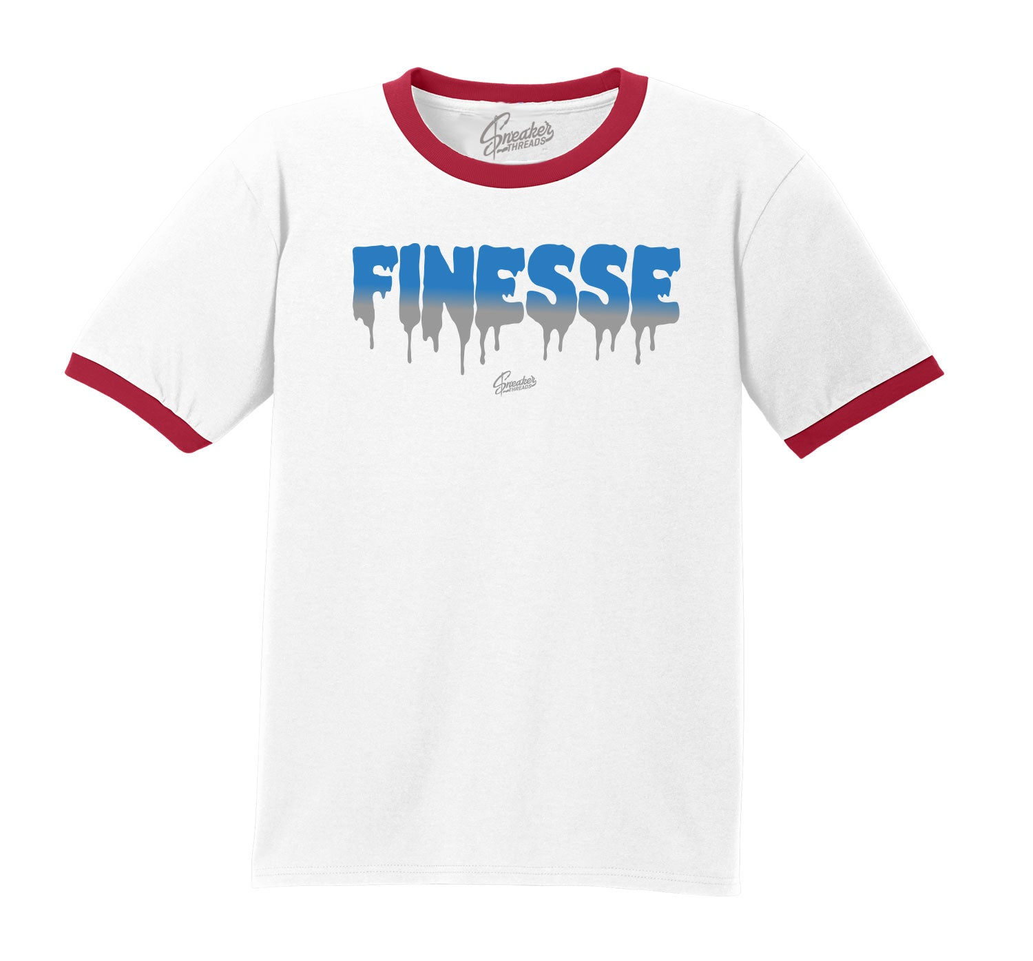 Jordan 4 What The Four Ringer Shirt - Finesse - White