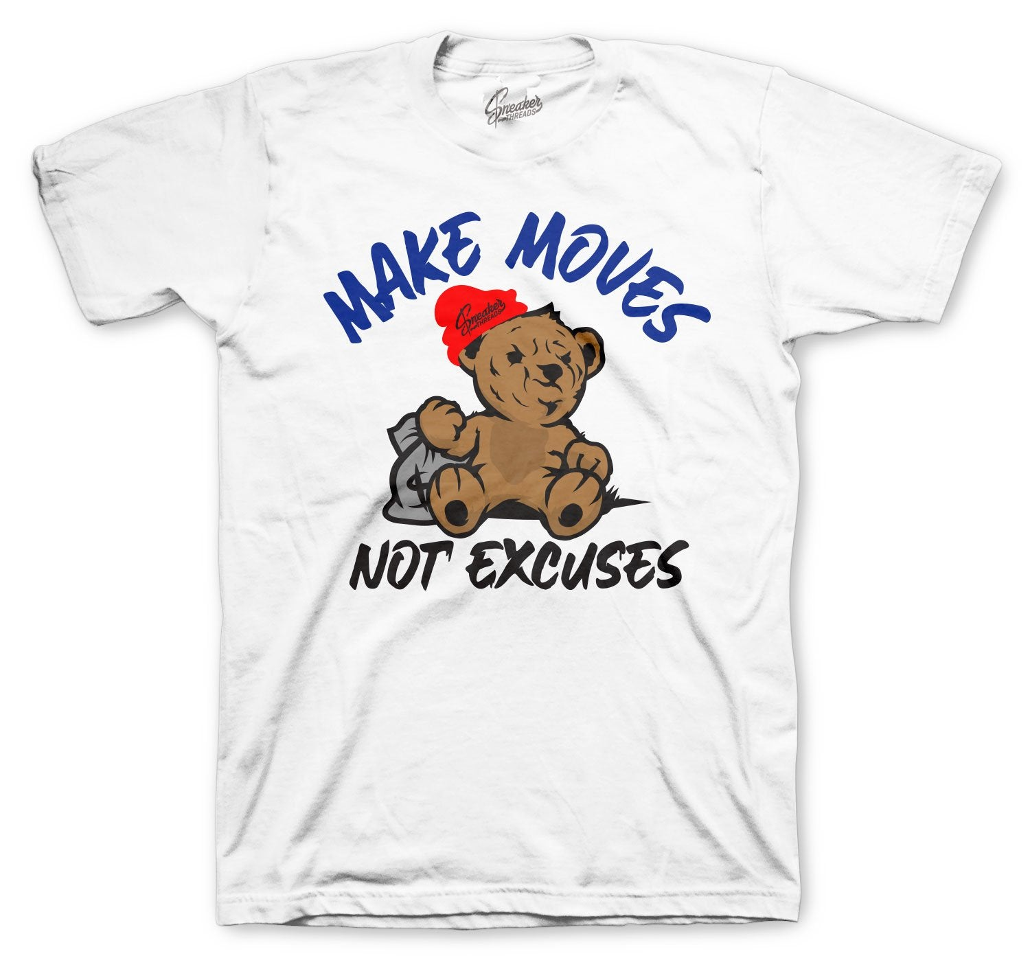 Money Bear Shirt to match perfect with Jordan 4 Loyal Blue