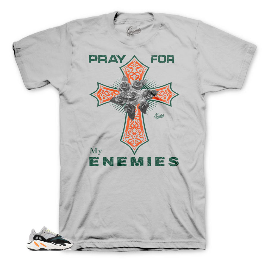 Pray Cross tee to match Wave Runners