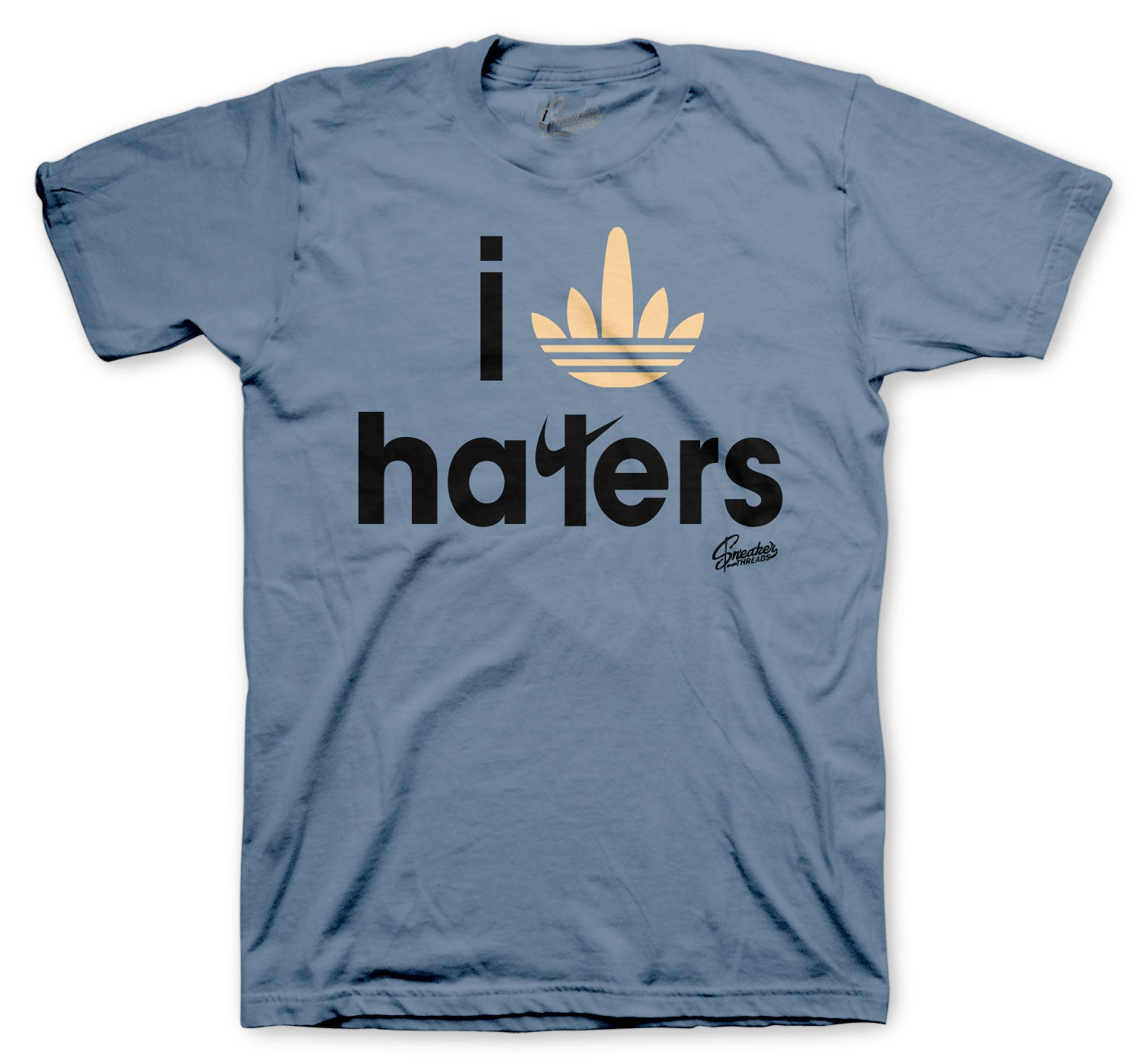 Yeezy Ash Blue 350 Shirt - Haters - Blue