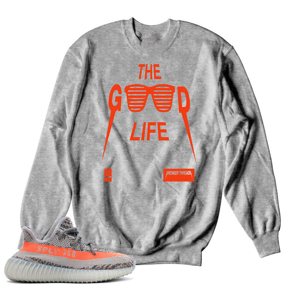 Yeezy Beluga Sweater - Good Life - Grey
