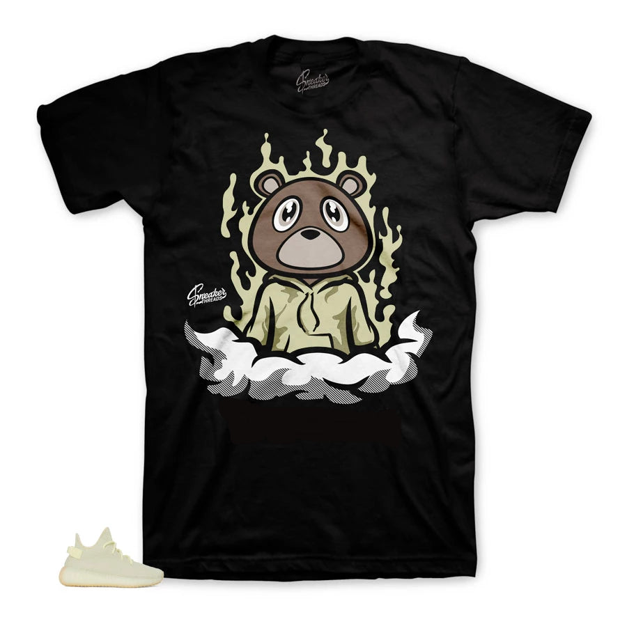 Dope Bear Shirt to match Yeezy Butter Shoes