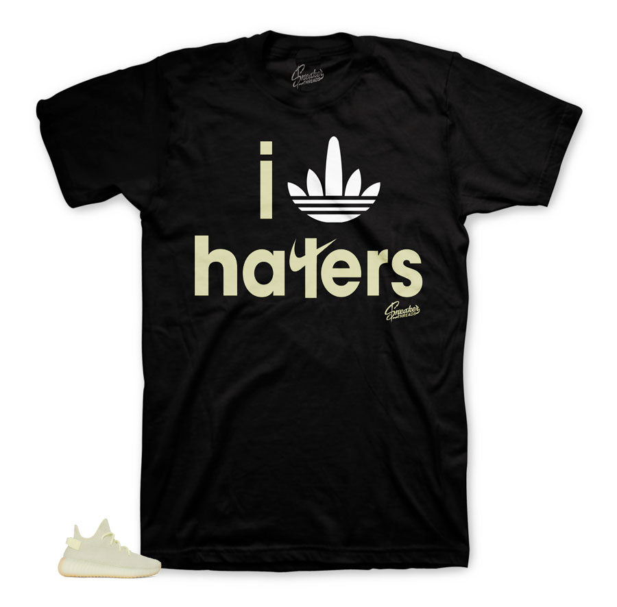 Yeezy Butter Shirt - I Stripes Haters - Black