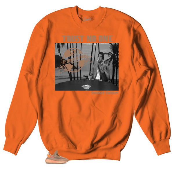 eac287117 Yeezy Boost 350 clay sneaker have matching shirts made to match the yeezy  clay sneakers