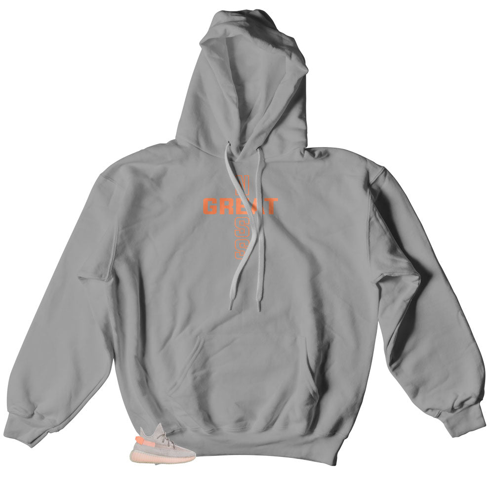 Hoody created to match the yeezy true form boost 350 sneaker collection