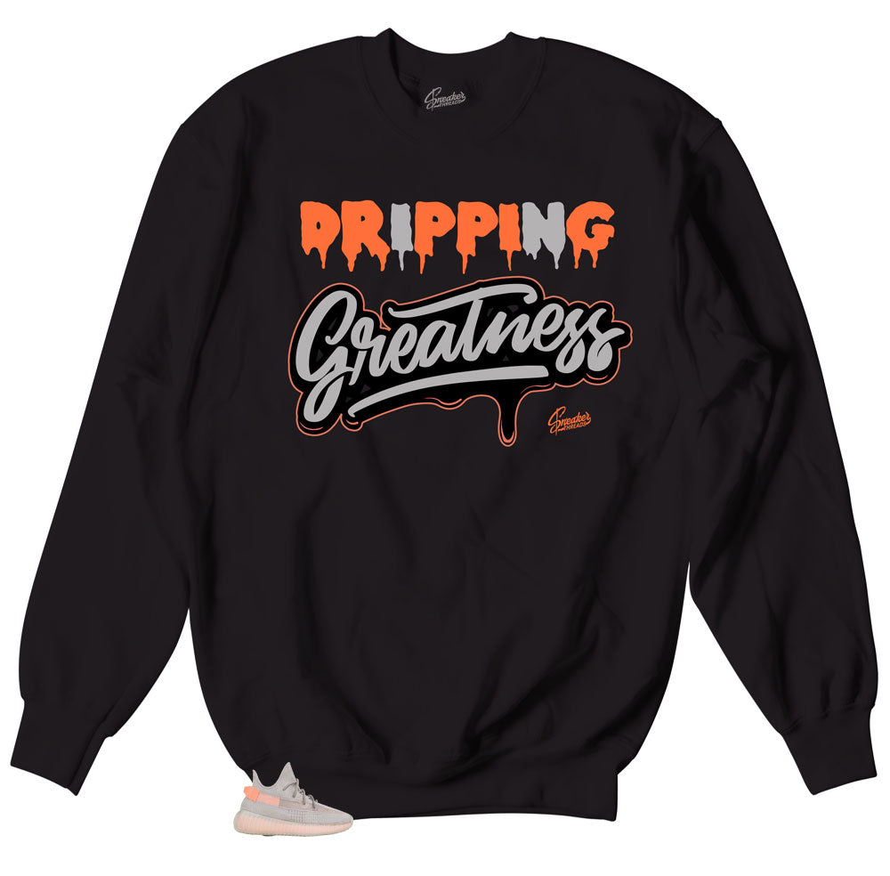 Yeezy True Form Sweater - Drippin Greatness - Black