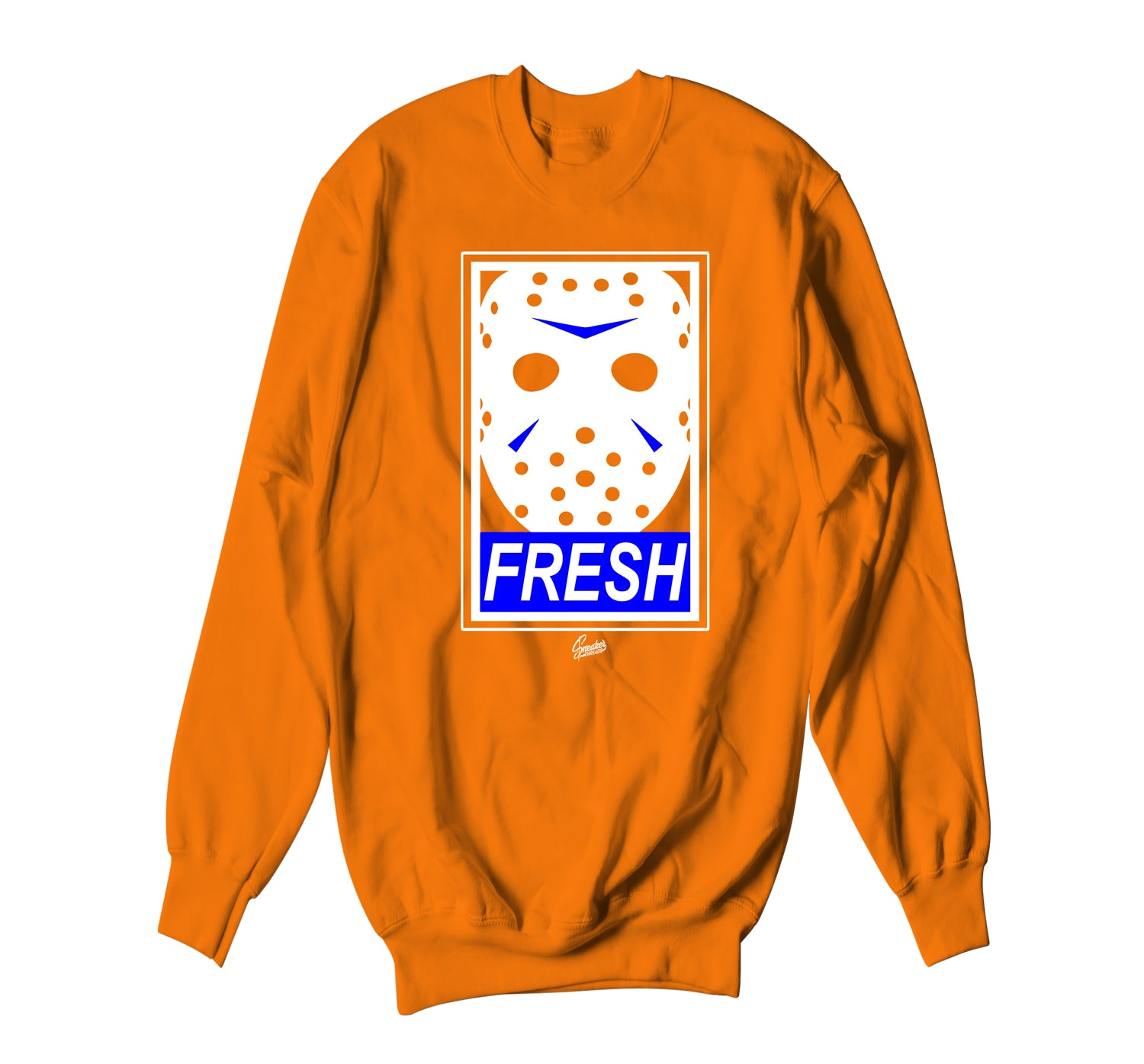 Jordan 3 Knicks Sweater - Fresh To Death - Orange