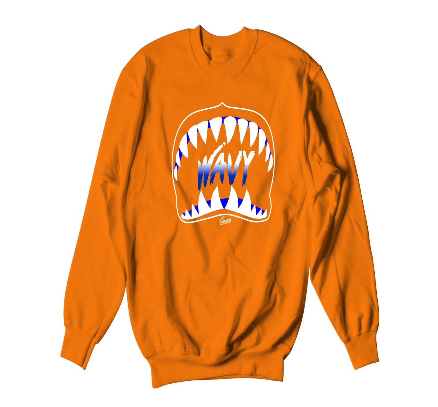 Jordan 3 Knicks Sweater - Wavy - Orange