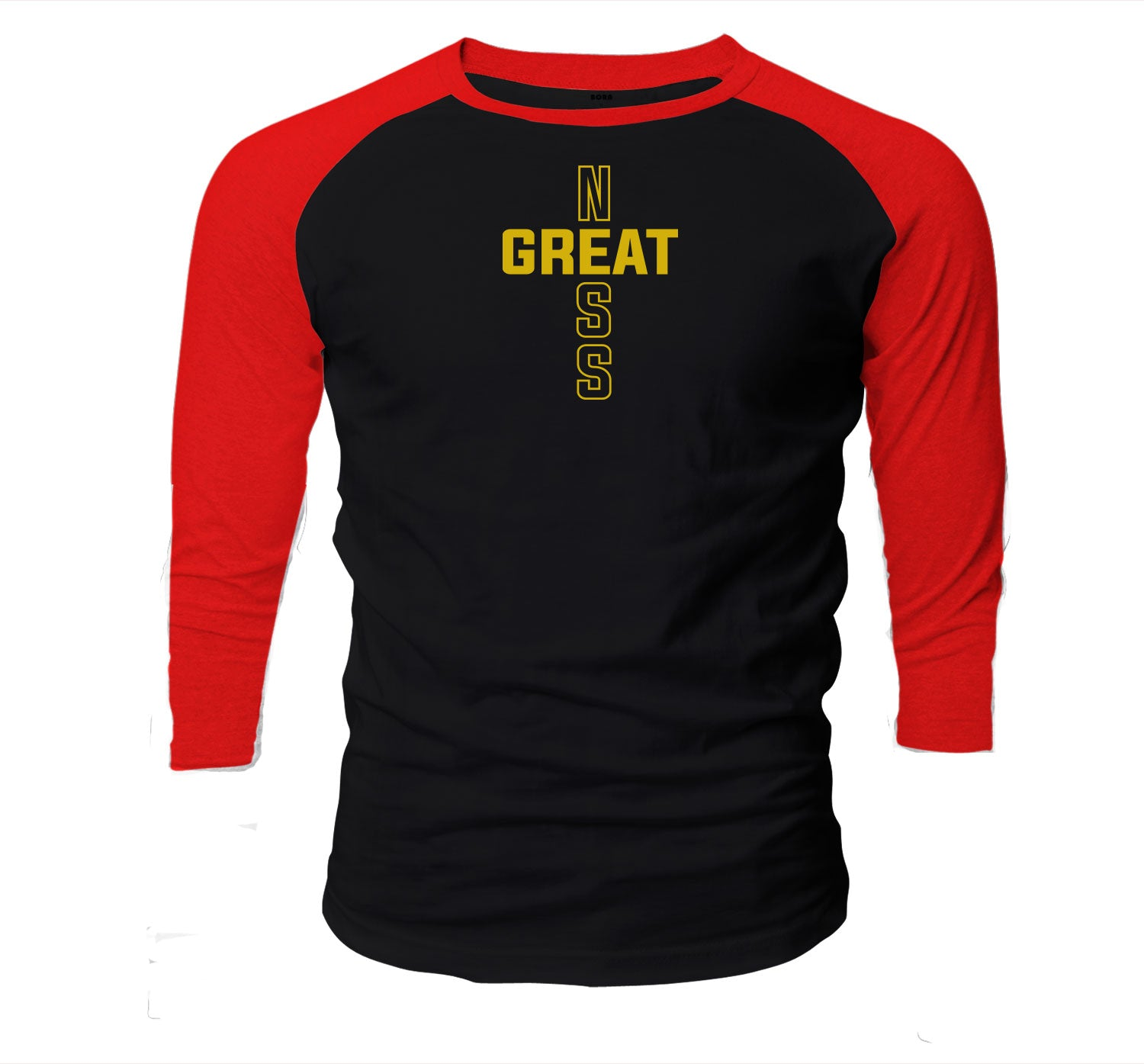Jordan 12 Super Bowl Raglan - Greatness Cross - Black