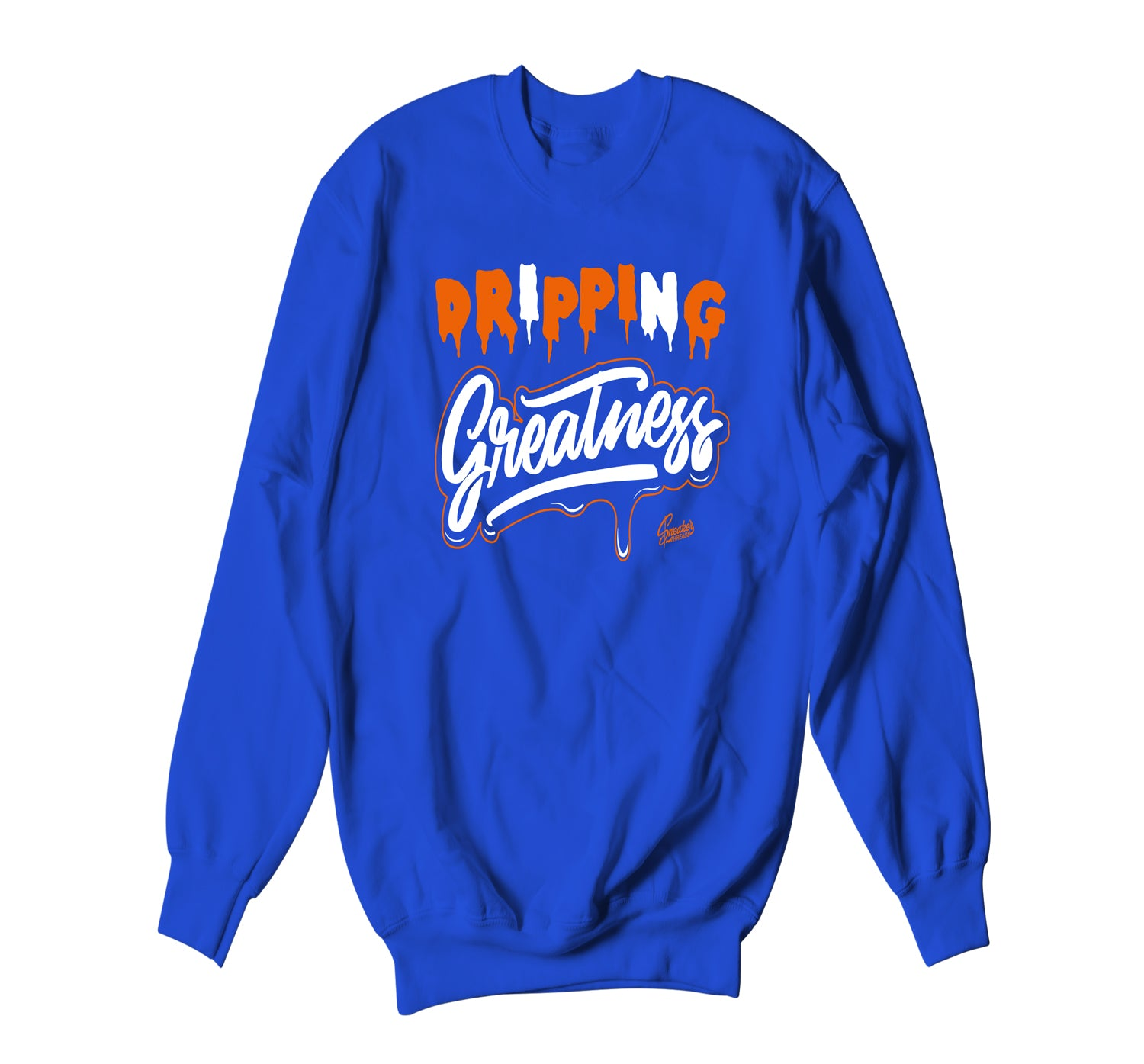 Jordan 3 Knicks Sweater - Dripping Greatness - Blue