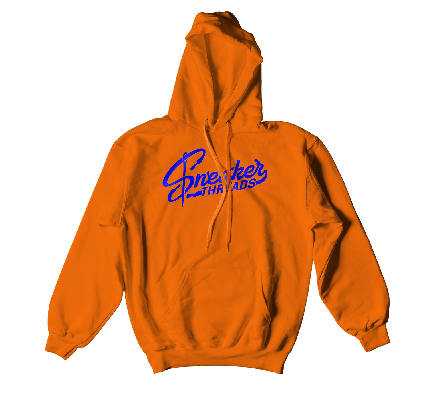 Jordan 3 Knicks Hoody - ST Logo - Orange