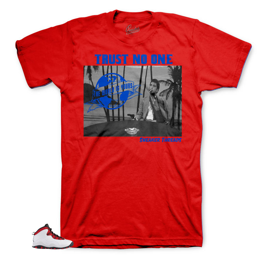 Jordan 10 Westbrook Scarface Shirt