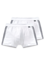 Afbeelding in Gallery-weergave laden, 2PACK Shorts 035111 100 weiss