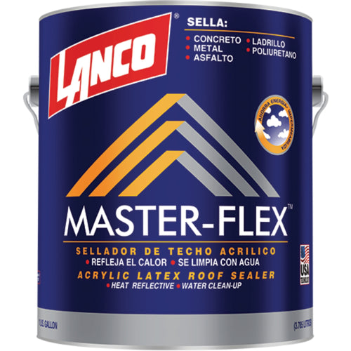 Lanco Sellador de Techos Masterflex (Color Blanco)