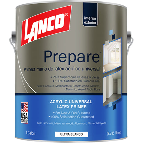 Lanco Primer Superficies Nuevas Prepare (Color Blanco)