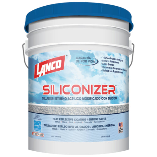 Lanco Sellador de Techos Siliconizer (Disponible 4 Múltiples Colores)