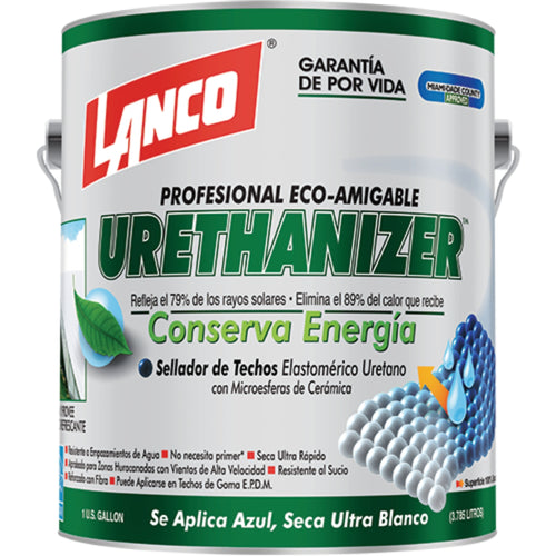 Lanco Sellador de Techos Urethanizer (Color Blanco)