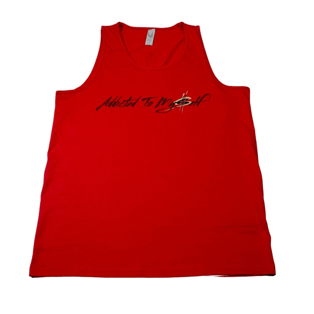 Red Men's Tank Top