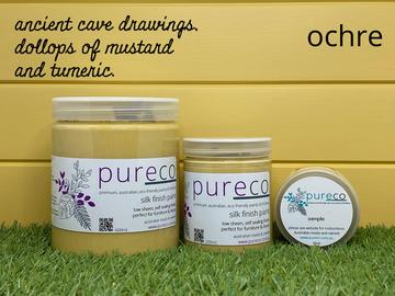 SILK FINISH PAINT - OCHRE