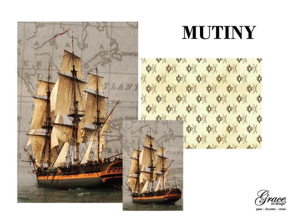 Decoupage Pack - Mutiny •• Pre Order ••