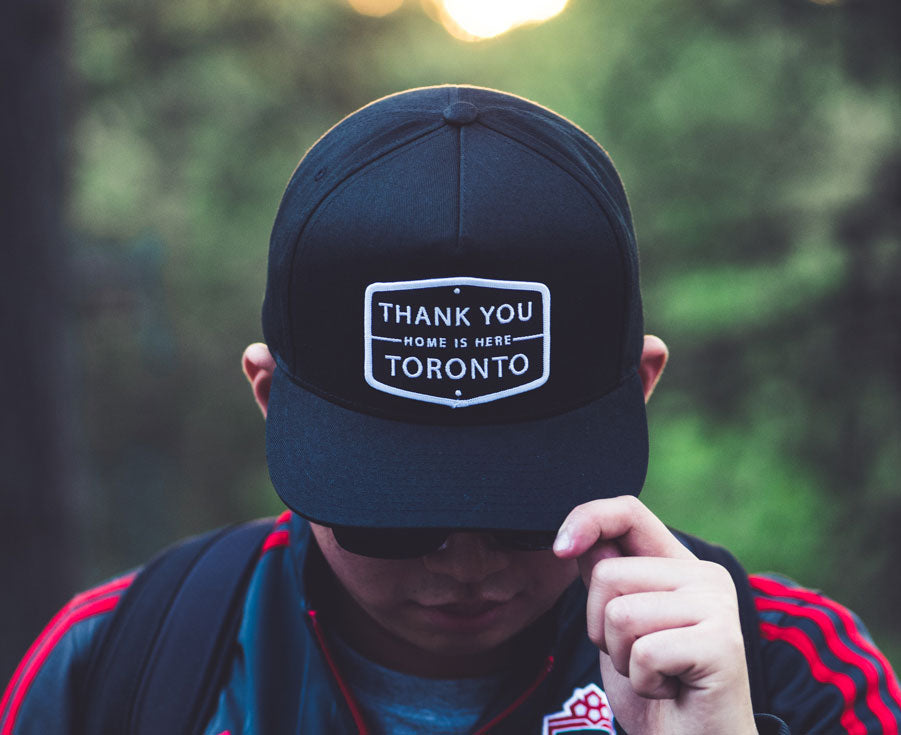 Thank You Toronto Home Is Here Cap Black