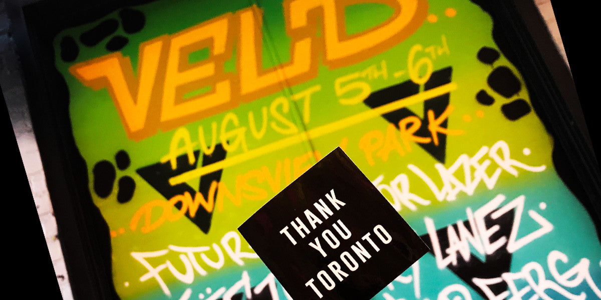 Veld Contest Thank You Toronto 2017
