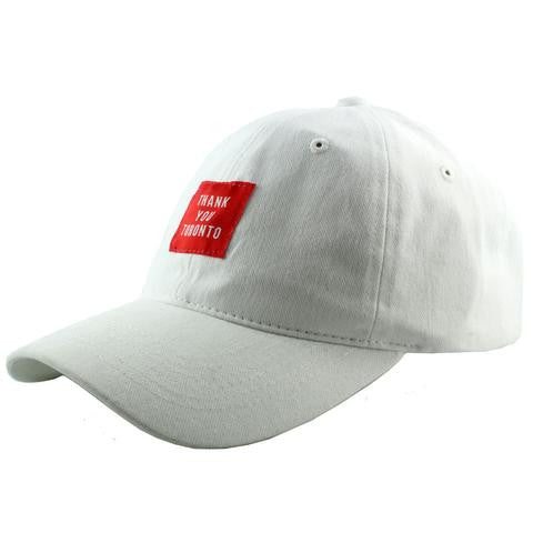 Thank You Toronto Dad Cap White