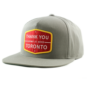 Home Is Here™ Cap - Grey / Red / Yellow