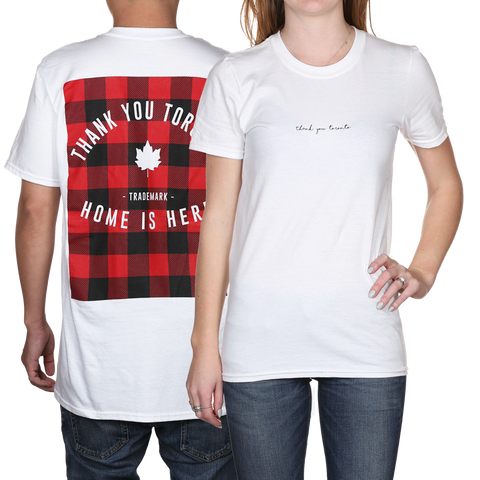 Thank You Toronto Home Is Here Tee T-Shirt