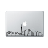 "Toronto Skyline 13"" Laptop Decal"