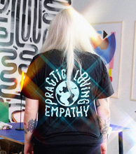 Load image into Gallery viewer, Unisex Adult Power To The Ballot Empathy Tee [Black]