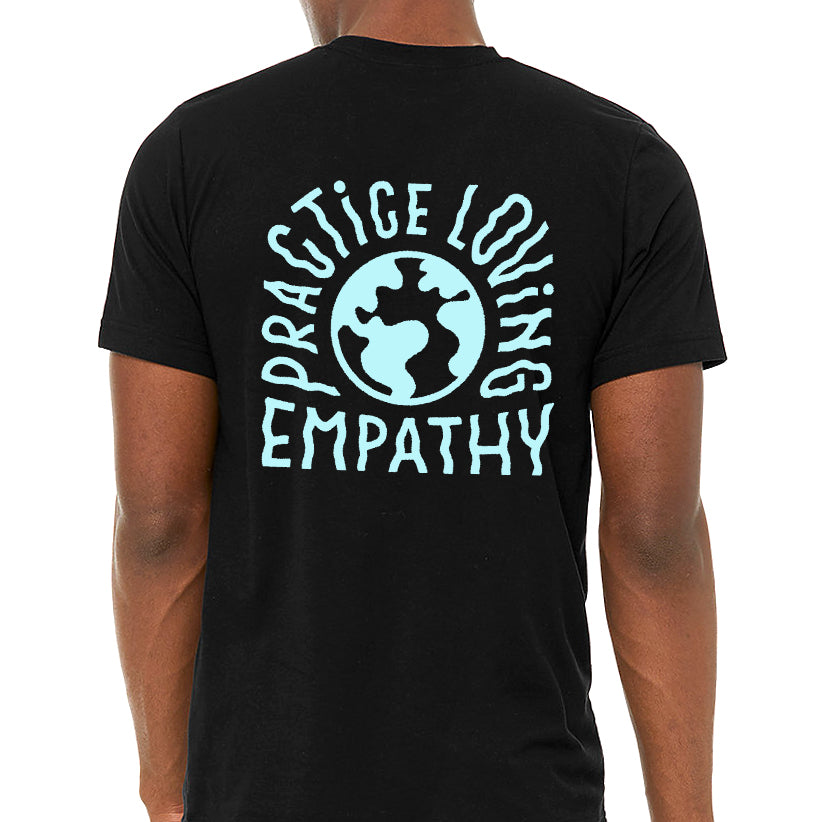 Unisex Adult Power To The Ballot Empathy Tee [Black]