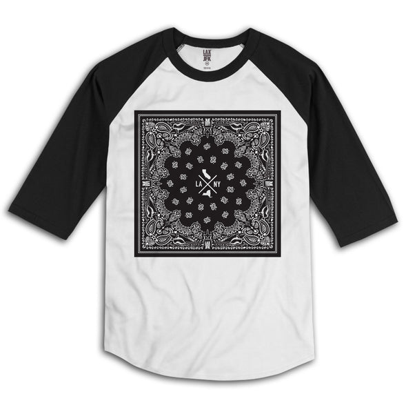 Bandanna box Raglan black