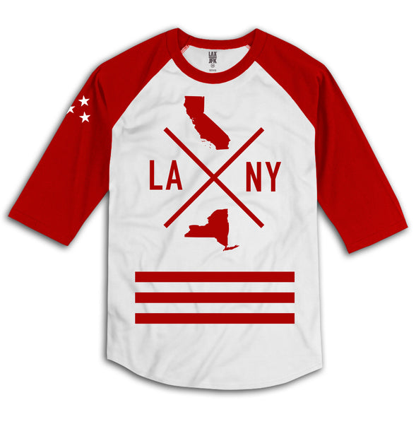 State to state raglan red