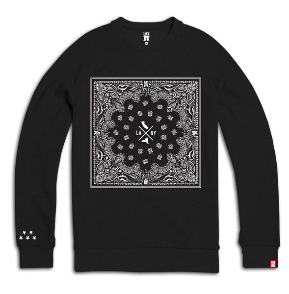 Bandana box sweatshirt black
