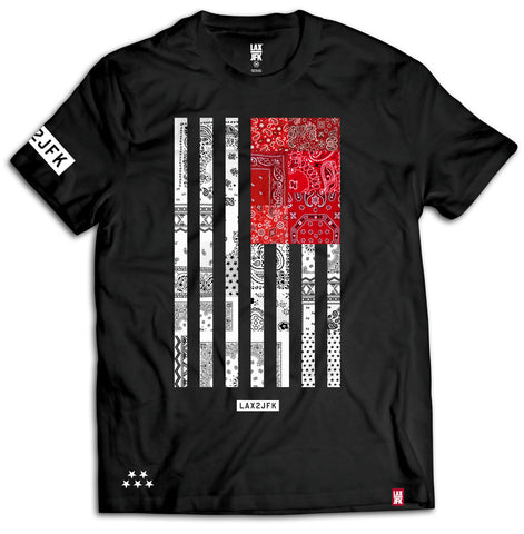 Bandana flag black