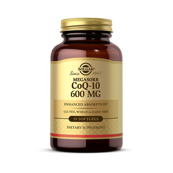 Megasorb COQ-10 600 mg Softgels