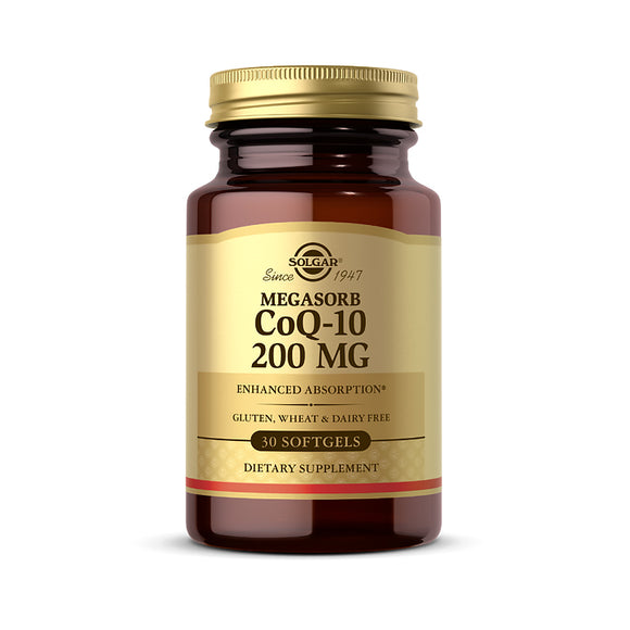 Megasorb COQ-10 200 mg Softgels