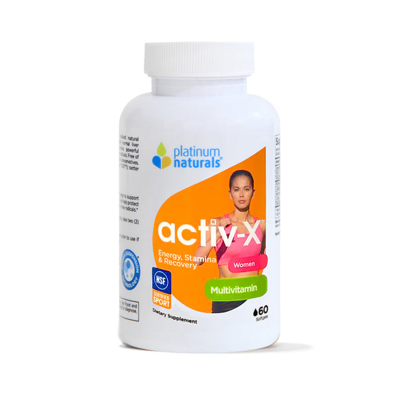 Activ-X® for Women 엑티브-X  Formulated for active female