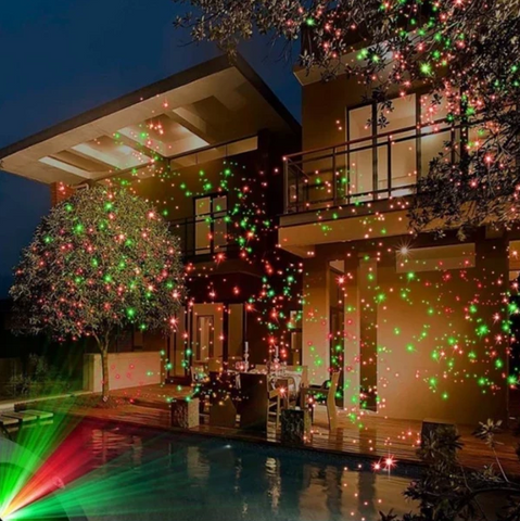 Laser Fairy Light Projection For Diwali & Christmas Festival Celebration Light
