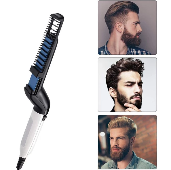 MODELLING COMB MEN STYLER Curler Straightener for beauty