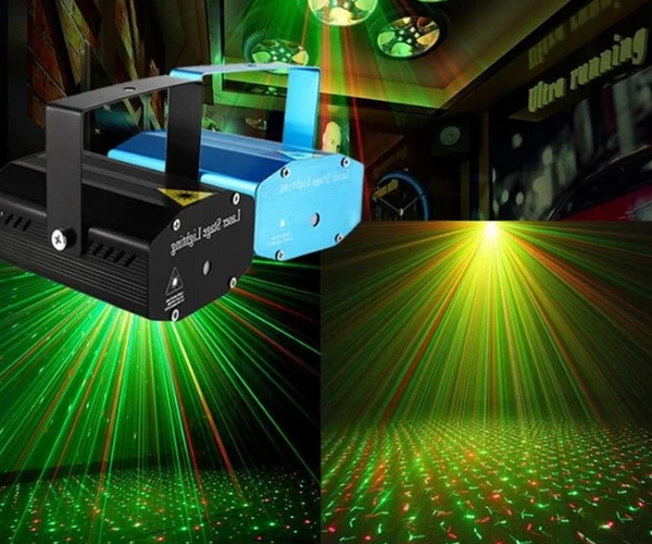 Mini LED Laser Projector For Diwali & Christmas Festival Celebration Light