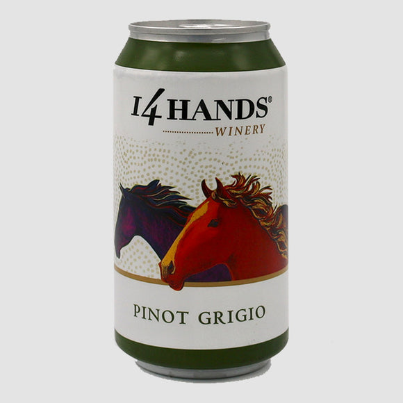 14 Hands Pinot Grigio - 375mL Can (half-bottle)