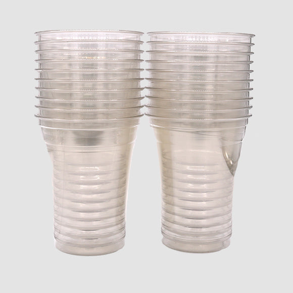 16oz Clear Plastic Cups (Set of 20)